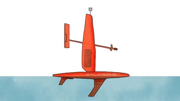 Wind-Powered Ocean Drones