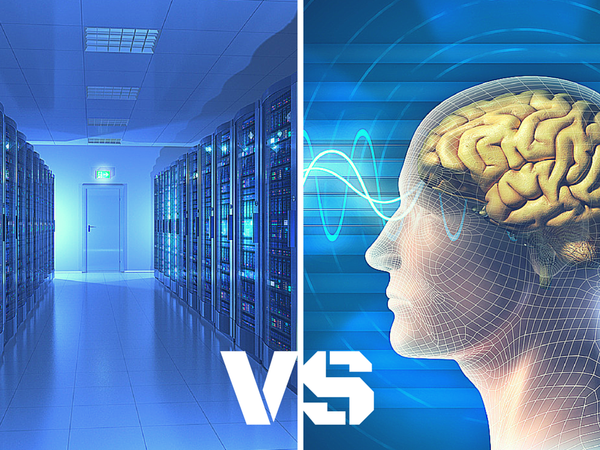 Computation Power: Human Brain vs Supercomputer